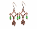 Antique Copper St. Patrick's Day Pewter Earring Kit