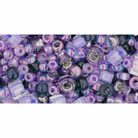 TOHO Kawaii Purple Seed Bead Mix