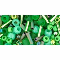 TOHO Wasabi Green Seed Bead Mix