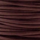 2mm Brown Cowhide Leather Cord 5 Meters