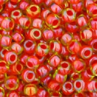 Jonquil/Hycinth Lined Seed Bead Size 11/0