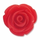 20mm Coral Rose Resin Bead (1PC)