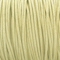 Cream 1.5mm Waxed Cotton Craft Cord (1YD)