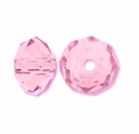 Majestic Crystal® Pink 4x6mm 32-Facet Crystal Beads (25PK)