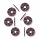 Antiqued Copper 14mm Wavy Flat Disk Spacer Beads (10PK)