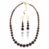Graduated Brown Pearl Jewelry Design Kit