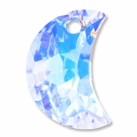 16mm Swarovski 6722 Moon Pendants Crystal AB