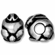 Antiqued Silver 11mm Rabbit Euro Large Hole Bead (1PC)