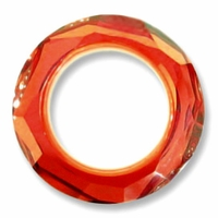 20mm Swarovski Cosmic Ring 4139: Red Magma
