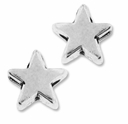 Antiqued Silver 5mm Star Beads (20PK)