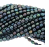 Peacock Rice Freshwater Pearl 4-4.5mm Bead Strand