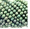 Green Potato Freshwater Pearl 7-8mm Bead Strand