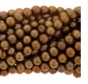 Coppery Peacock Potato Freshwater Pearl 5.5mm Bead Strand