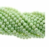Pale Mint Green Potato Freshwater Pearl 5mm Bead Strand