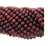 Cranberry 9-10mm Potato Freshwater Pearl Bead Strand