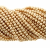 Light Champagne 4-5mm Potato Freshwater Pearl Bead Strand