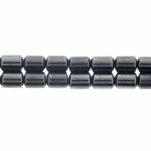 Magnetic Hematite 4mm Drum Beads 16 inch Strand