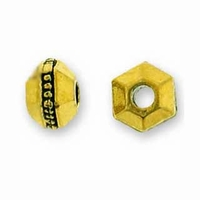 3mm Antique Gold Faceted Spacer (10PK)