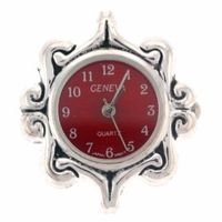Red Decorative Watch Face