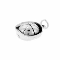 Sailor Cap Sterling Silver Charm