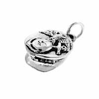 Marine Cap Sterling Silver Charm