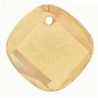 Crystal Golden Shadow Swarovski 6059 18mm Metro Pendants