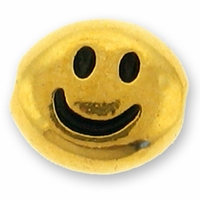 Antique Gold Smiley Face