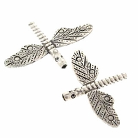 Dragonfly Sterling Silver Bead (1PC)