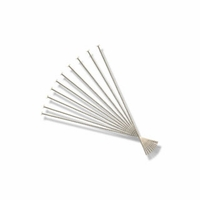 Silver Plated 1 1/4 inch Head Pin (10PK)