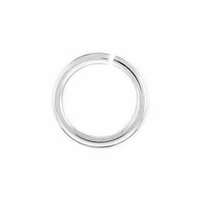 Silver Plated 5mm Open Jump Rings (20PK)