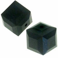 Jet 5601 Swarovski 4mm Cube Bead (1PC