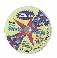Stretch Magic (TM) Clear 1mm diameter  25 meters