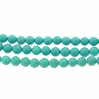 3mm Blue GreenTurquoise Beads 16 Inch