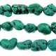 12-15mm Turquoise Nugget Chips 16 Inch