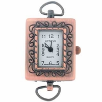 Antique Copper Loop Picture Frame Watch Face