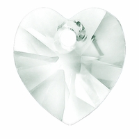 Crystal Swarovski 6228 Xilion Heart 18mm Pendants