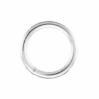 Fine Gauge Closed Jump Ring 0.65x6.0mm (10PK)
