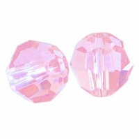 Rose Swarovski 5000 6mm Crystal Beads (10PK)