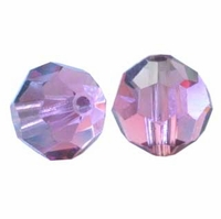 Rose Satin Swarovski 5000 6mm Crystal Beads (10PK)