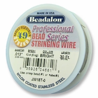 Beadalon 49 strand .013 30ft