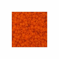 Orange Seed Bead size 11/0
