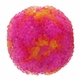 14mm Indonesia Pink Floral Design Resin Beads (5PK)