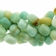 Amazonte Nuggets Gemstone Beads 16 Inch Strand