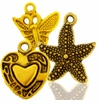 Gold Plated Charms