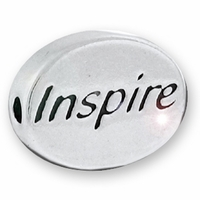 Inspire Sterling Silver Message Bead