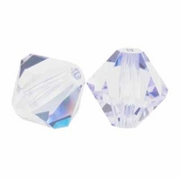 Violet 5328 8mm Swarovski Crystal XILION Bicone Beads(1PC)