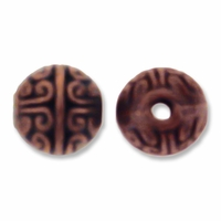 Antiqued Copper 8mm Round Spacer Beads (10PK)