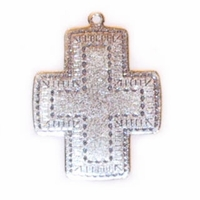 Sterling Silver Southwest Cross