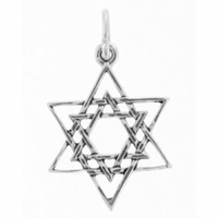 Sterling Silver Star of David Sterling Silver Charm