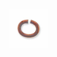 Copper Plated Oval Jump Ring (10PK)